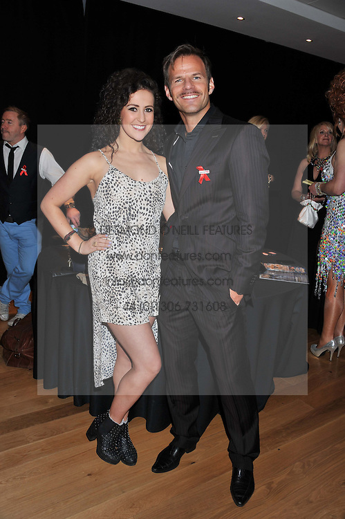 BEN RICHARDS and HAYLEY AINSLEY at West End Eurovision 2013 held at the  Dominion Theatre, London on 23rd May 2013.