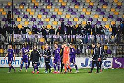 Viole and team of Maribor after football match between NK Maribor and NK Bravo in 25th Round of Prva liga Telekom Slovenije 2019/20, on March 7, 2020 in Ljudski vrt, Maribor, Slovenia. Photo by Blaž Weindorfer / Sportida