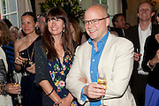 CAROLINE BONDY; TOBY YOUNG, Imogen Edwards-Jones - book launch party for ' Hospital Confidential' Mandarin Oriental Hyde Park, 66 Knightsbridge, London, 11 May 2011. <br />  <br /> -DO NOT ARCHIVE-© Copyright Photograph by Dafydd Jones. 248 Clapham Rd. London SW9 0PZ. Tel 0207 820 0771. www.dafjones.com.