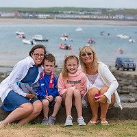 Joanne Morgan, Kieran Ryan, Laura Kate Ryan from Crusheen and Irene Morgan from Ennis at the Kilkee by the Sea Festival 2018