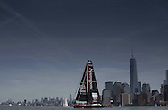 IMOCA Ocean Masters. New York - Barcelona Race start. Pictures of Neutrogena skippered by Guillermo Altadill (ESP) &amp; Jose Munoz (Chile)<br /> Credit: Mark Lloyd/Lloyd Images