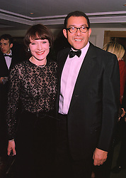 MRS PAUL GETTY wife of the billionaire and designer BRUCE OLDFIELD, at a ball in London on 20th November 1997.MDN 42
