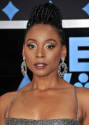 Actress Erica Ash at the 2017 BET Awards held at Microsoft Theater on June 25, 2017 in Los Angeles, CA, USA (Photo by Sthanlee B. Mirador) *** Please Use Credit from Credit Field ***
