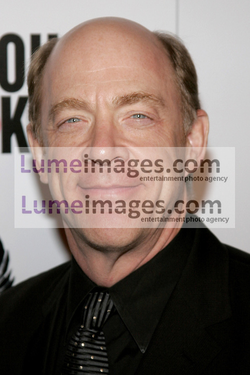 J.K. Simmons at the Los Angeles premiere of 'Thank You For Smoking' held at the Directors Guild of America in Hollywood on March 16, 2006. Credit: Lumeimages.com