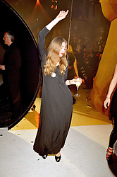 ANOUSKA BECKWITH dancing at the Moet & Chandon Tribute to Cinema party held at the Big Sky Studios, Brewery Road, London N7 on 24th March 2009.