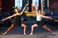 Dance As Art Photography Project- Dumbo Brooklyn, New York with dancers, Erin Aslami and Emily Malamet