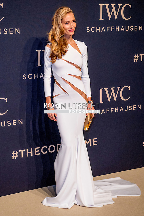 17-1-217 -GENEVE GENEVA SWITSERLAND SWISS ZWITSERLAND -  Vanessa Lorenzo SIHH 2017  IWC gala event «Decoding the Beauty of Time» COPYRIGHT ROBIN UTRECHT