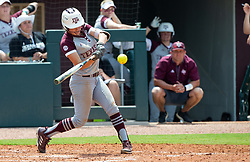 Auburn vs. Texas A&M in a NCAA softball game Sunday, April 29, 2018, in College Station, Texas.
