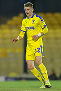 AFC Wimbledon midfielder Jack Rudoni (12) during the EFL Trophy match between Southend United and AFC Wimbledon at Roots Hall, Southend, England on 13 November 2019.