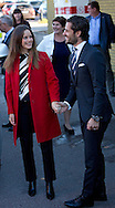 Borlange, 05-10-2015<br /> <br /> Official visit of Prince Carl Philip and Princess Sofia to Dalrna<br /> <br /> Photo: Royalportraits Europe/Bernard Ruebsamen
