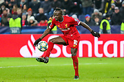 Liverpool forward Sadio Mané (10) on the ball during the Champions League match between FC Red Bull Salzburg and Liverpool at the Red Bull Arena, Salzburg, Austria on 10 December 2019.