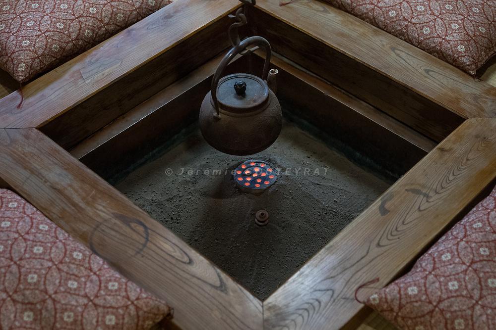 Minamiuonumashi, Niigata Prefecture, Japan, October 30 2017 - Ryugon ryokan, a 200 yo history traditional inn.