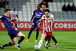 March 30, 2018 - Ajaccio, France - Mathieu COUTADEUR (ACA) vs  (Credit Image: © Panoramic via ZUMA Press)