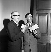 1960 - Cash bonuses for C.I.E. Traffic staff