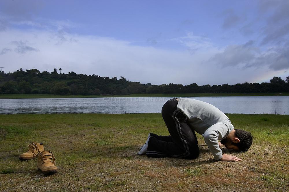 Ali Batouli, Stanford Muslim student at Lake Lagunita