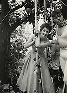 Gina Lollobrigida and Burt Lancaster<br />