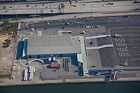 Aerial Image of the Maryland Port Administration Cruise Terminal Building.