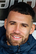 Manchester City defender Nicolas Otamendi (30) on the bench during the Premier League match between Crystal Palace and Manchester City at Selhurst Park, London, England on 14 April 2019.
