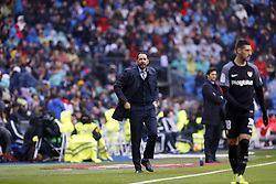 January 19, 2019 - Madrid, Madrid, Spain - Pablo Machin Diez (Sevilla FC) seen in action during the La Liga match between Real Madrid and Sevilla FC at the Estadio Santiago Bernabéu in Madrid. (Credit Image: © Manu Reino/SOPA Images via ZUMA Wire)