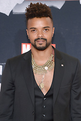 Actor Eka Darville attends the 'Marvel's The Defenders' New York Premiere at Tribeca Performing Arts Center in New York, NY, on on July 31, 2017. (Photo by Anthony Behar) *** Please Use Credit from Credit Field ***