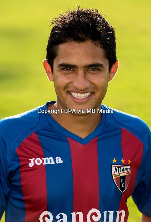 Mexico League 2013-2014 - First Division / <br /> CF Atlante / Mexico - <br /> Alonso Zamora