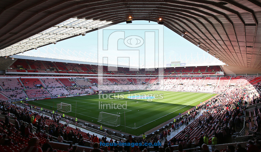 Picture by Paul  Gaythorpe/Focus Images Ltd +447771 871632.21/10/2012.The Stadium Of Light, Sunderland prior to the Barclays Premier League match between Sunderland and Newcastle United.