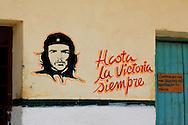 Image of Ernesto Che Guevara in Candelaria, Artemisa, Cuba.