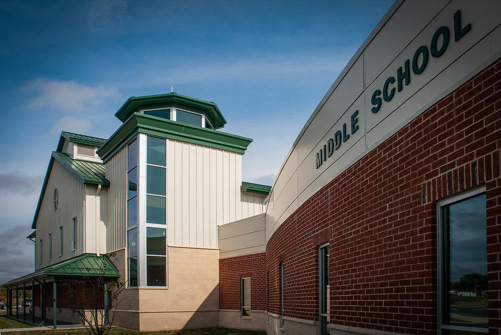 Middle school building