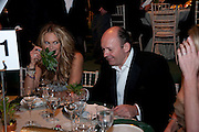 ELLE MACPHERSON; MICHAEL SPENCER, The Ormeley dinner in aid of the Ecology Trust and the Aspinall Foundation. Ormeley Lodge. Richmond. London. 29 April 2009
