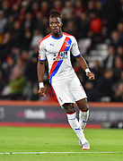 Wilfried Zaha (11) of Crystal Palace during the Premier League match between Bournemouth and Crystal Palace at the Vitality Stadium, Bournemouth, England on 1 October 2018.