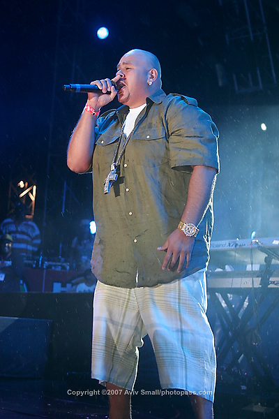 Fat Joe performing at Giant's Stadium in East Rutherford New Jersey on June 3, 2007 during Hot 97's Summerjam 2007.