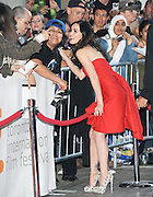 16.SEPTEMBER.2011. TORONTO<br /> <br /> ACTRESS MEGAN FOX AND BRIAN AUSTIN GREEN ATTEND THE PRIEMIERE OF 'FRIENDS WITH KIDS' AT THE RYERSON THEATRE, DURING THE 2011 TORONTO INTERNATIONAL FILM FESTIVAL, IN CANADA.<br /> <br /> BYLINE: EDBIMAGEARCHIVE.COM<br /> <br /> *THIS IMAGE IS STRICTLY FOR UK NEWSPAPERS AND MAGAZINES ONLY*<br /> *FOR WORLD WIDE SALES AND WEB USE PLEASE CONTACT EDBIMAGEARCHIVE - 0208 954 5968*