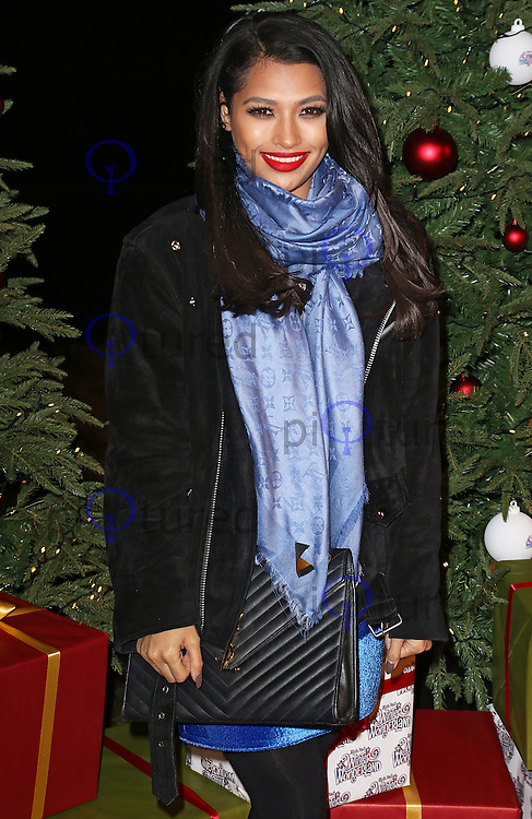 Vanessa White, Winter Wonderland - VIP Launch, Hyde Park, London UK, 19 November 2015, Photo by Brett D. Cove