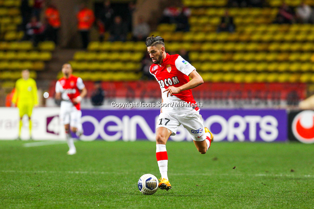 Yannick FERREIRA CARRASCO  - 14.01.2015 - Monaco / Guingamp - 1/4Finale Coupe de la Ligue<br /> Photo : Jean Christophe Magnenet / Icon Sport