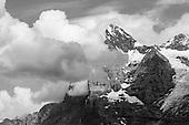 Berner Oberland Schwarz Weiss
