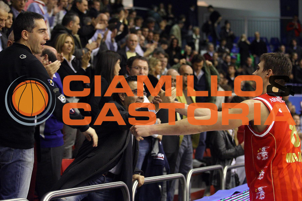DESCRIZIONE : Milano Lega A1 2006-07 Armani Jeans Milano Snaidero Udine<br /> GIOCATORE : Gallinari<br /> SQUADRA : Armani Jeans Milano<br /> EVENTO : Campionato Lega A1 2006-2007<br /> GARA : Armani Jeans Milano Snaidero Udine<br /> DATA : 10/03/2007<br /> CATEGORIA : Esultanza<br /> SPORT : Pallacanestro<br /> AUTORE : Agenzia Ciamillo-Castoria/S.Ceretti