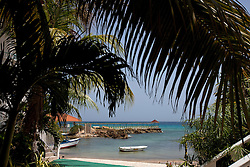 Pier and beach, Franklyn D Resort, Runaway Bay, St. Ann, Jamaica