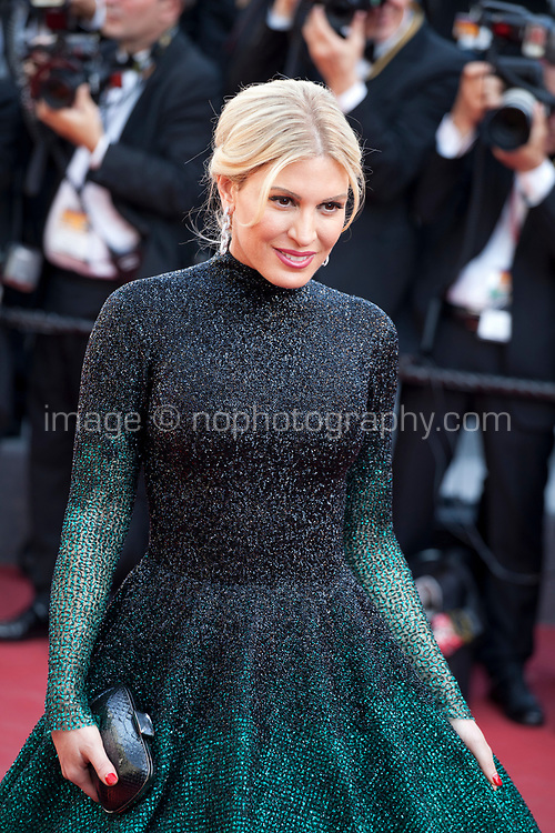 Hofit Golan arriving to the Closing Ceremony and awards at the 70th Cannes Film Festival Sunday 28th May 2017, Cannes, France. Photo credit: Doreen Kennedy