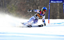 21.02.2015, Pohorje, Maribor, SLO, FIS Weltcup Ski Alpin, Maribor, Riesenslalom, Damen, 1. Lauf, im Bild Emi Hasegawa (JPN) // Emi Hasegawa of Japan during the 1st run of ladie's Giant Slalom of the Maribor FIS Ski Alpine World Cup at the Pohorje in Maribor, Slovenia on 2015/02/21. EXPA Pictures © 2015, PhotoCredit: EXPA/ Erwin Scheriau