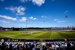 A general view of The Emirates Riverside during The 2019 Cricket World Cup group fixture between England and New Zealand - Mandatory by-line: Robbie Stephenson/JMP - 03/07/2019 - CRICKET - Emirates Riverside - Chester-le-Street, England - England v New Zealand - ICC Cricket World Cup 2019 - Group Stage