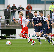 Gary irvine races away from Jonathon Flynn - Ross County v Dundee - IRN BRU Scottish Football League First Division at Victoria Park<br /> <br /> <br /> <br /> http://www.davidyoungphoto.co.uk