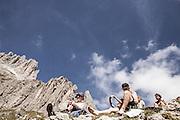 Trentino, val Di Fassa, Rifugio Roda di Vael