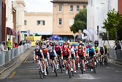 Trek Segafredo and Team Sunweb set the pace during Stage 4 of 2020 Santos Women's Tour Down Under, a 42.5 km road race in Adelaide, Australia on January 19, 2020. Photo by Sean Robinson/velofocus.com