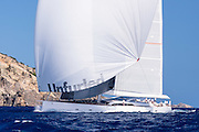 Unfurled sailing in the St. Barth's Bucket Regatta.