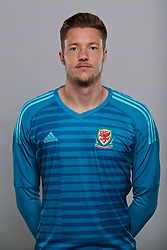 CARDIFF, WALES - Sunday, October 1, 2017: <br /> goalkeeper Wayne Hennessey. (Pic by David Rawcliffe/Propaganda)