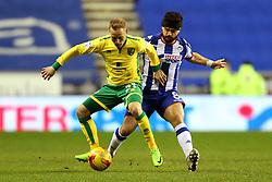 Alex Pritchard of Norwich City and Sam Morsy of Wigan Athletic - Mandatory by-line: Matt McNulty/JMP - 07/02/2017 - FOOTBALL - DW Stadium - Wigan, England - Wigan Athletic v Norwich City - Sky Bet Championship