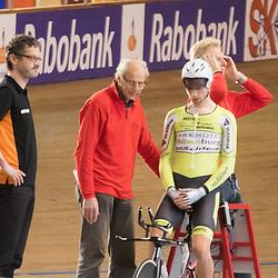 28-12-2015: Wielrennen: NK Baan: Alkmaar   <br /> ALKMAAR (NED) baanwielrennen<br /> Op de wielerbaan van Alkmaar streden de wielrenners om de nationale baantitels