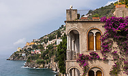 Scenic views along the Amalfi Coast of Italy