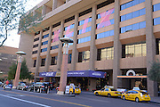 January 22, 2015; Phoenix, AZ, USA; General view of the Hyatt Regency Phoenix in advance of Super Bowl XLIX between the Seattle Seahawks and the New England Patriots.