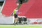 Johan Cruijff ArenA, Amsterdam. FC Kensington vs FC Coen en Sander. Op de foto: Simon Keizer